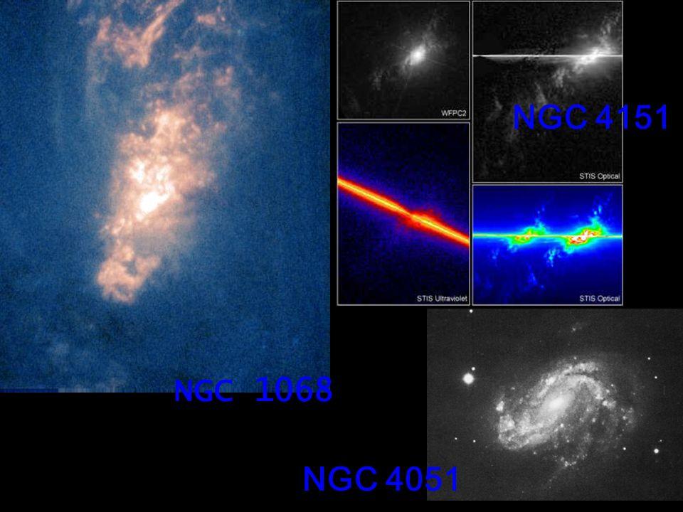 Seyferts gallerySeyferts gallery Queste immagini sono prese in banda V usando un CCD Texas Instruments CCD al telescopio Hall (1.1 m) del Lowell Observatory.