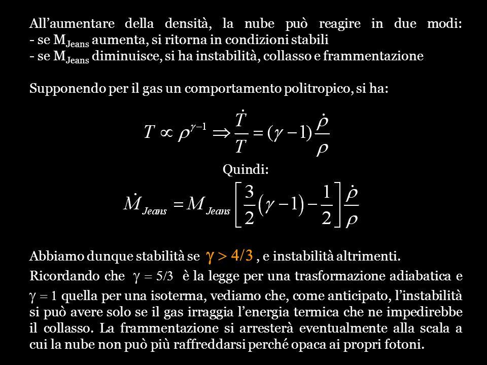 IMF e tempo di main sequence Non è ancora certo con quale distribuzione di massa nascano le stelle, né quali ne siano i limiti.