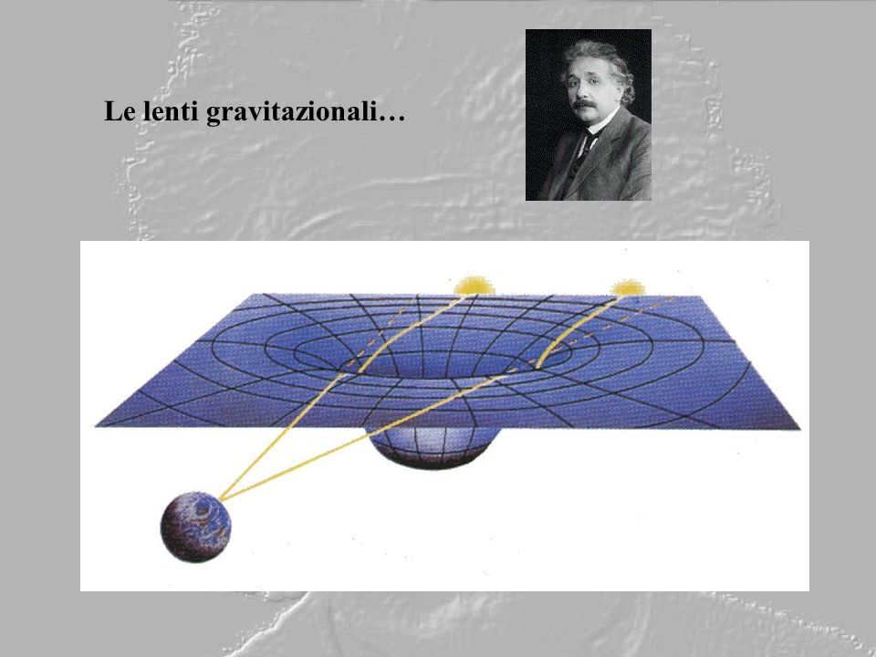 Le lenti gravitazionali…
