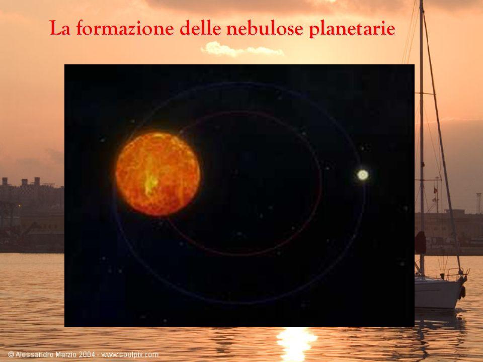Le nane bianche L ultimo stadio evolutivo di stelle di massa medio piccola è quello di nana bianca.