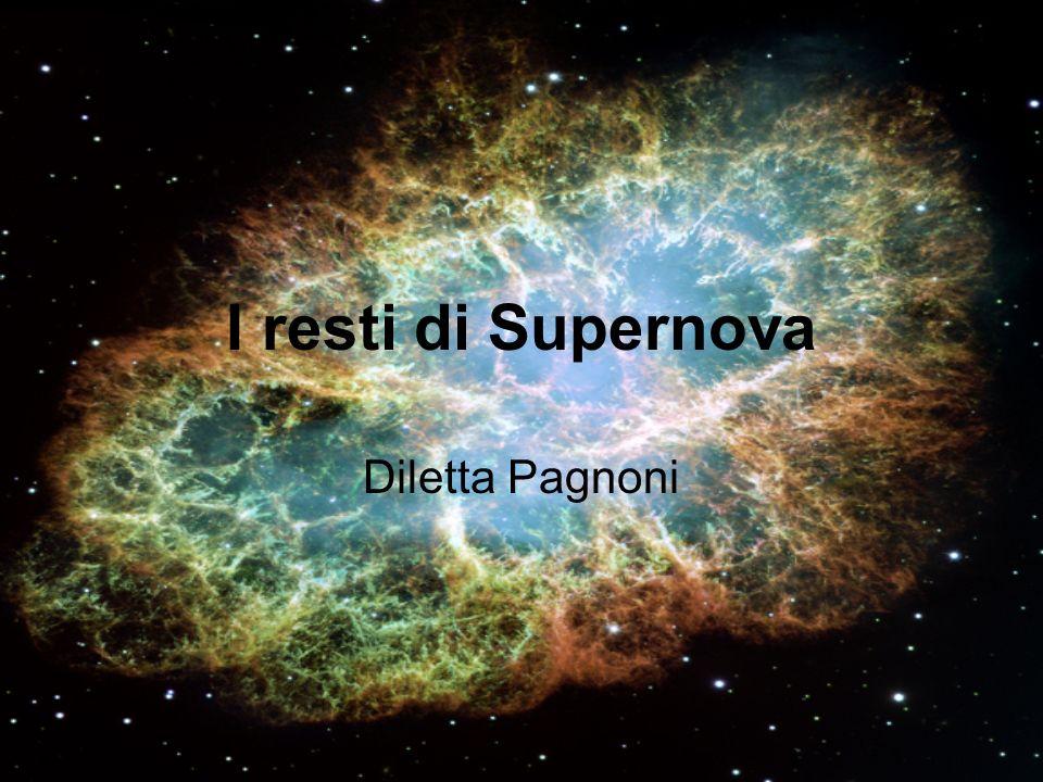 I resti di Supernova Diletta Pagnoni