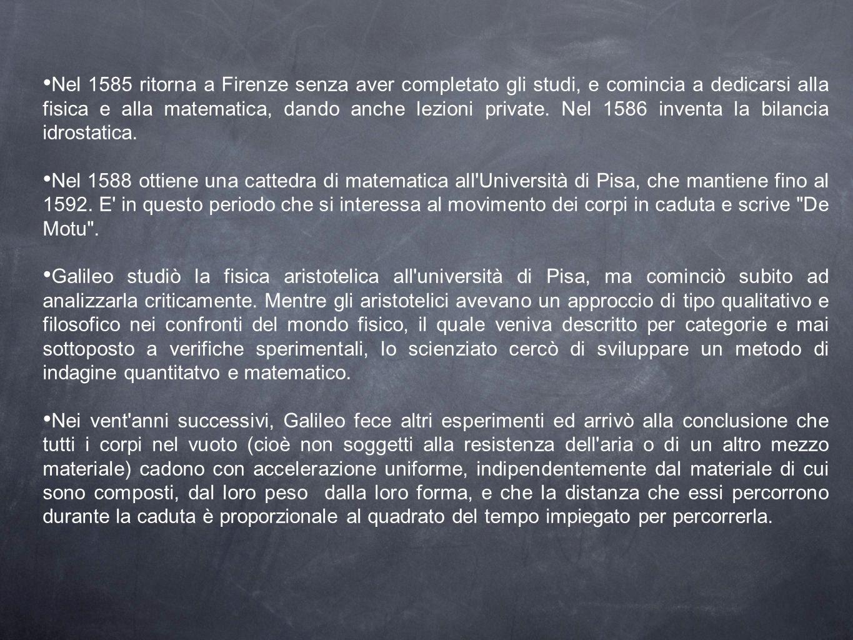 Nel 1591, il padre Vincenzo muore lasciandolo alla guida della famiglia.