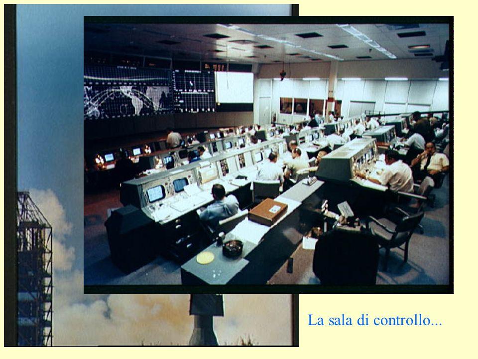 La sala di controllo...