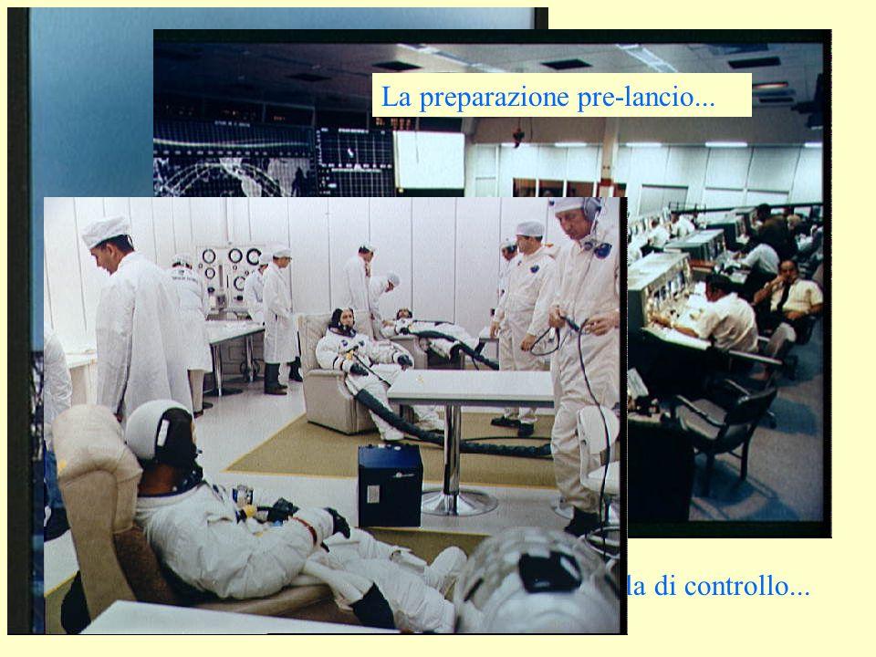 Il lancio! La sala di controllo... La preparazione pre-lancio...