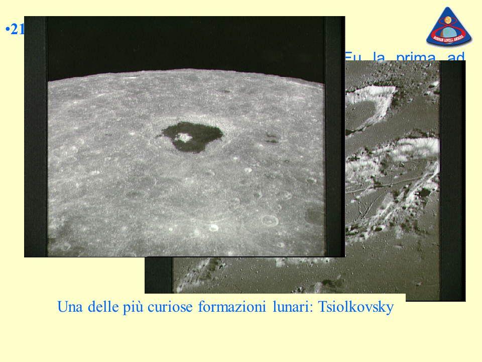 21 dicembre 1968.LApollo 8 Si tratta di una missione eccezionale.