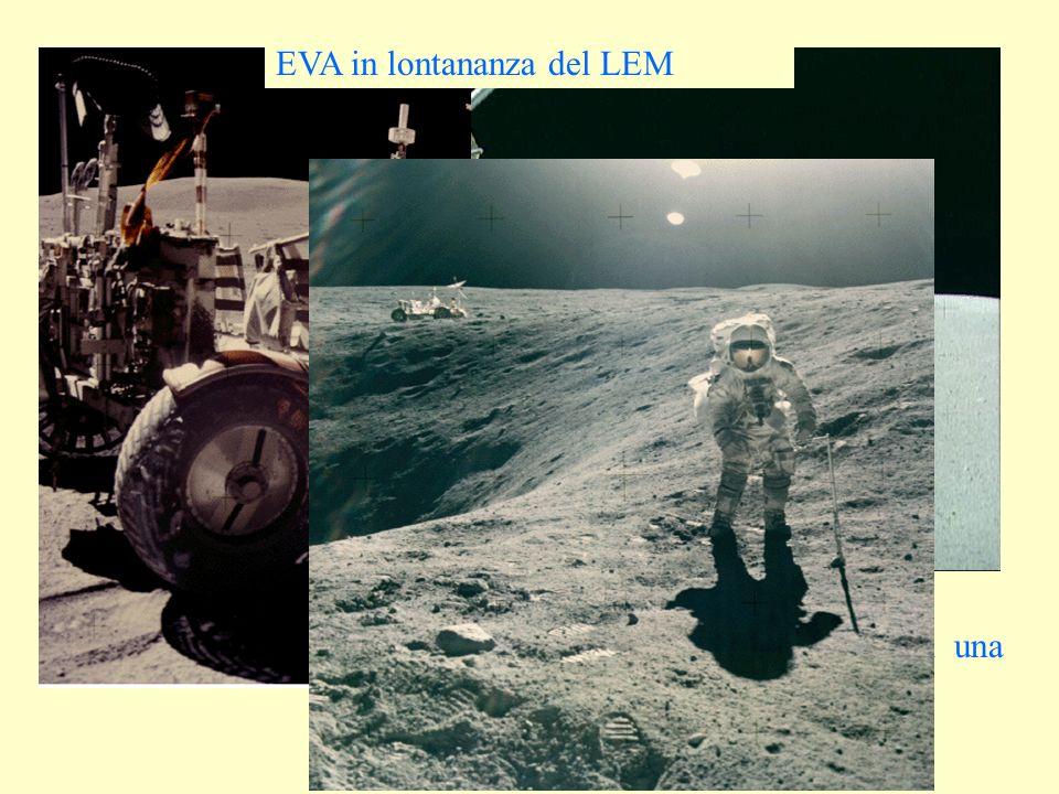 Ancora il Rover Ed il particolare di una telecamera EVA in lontananza del LEM