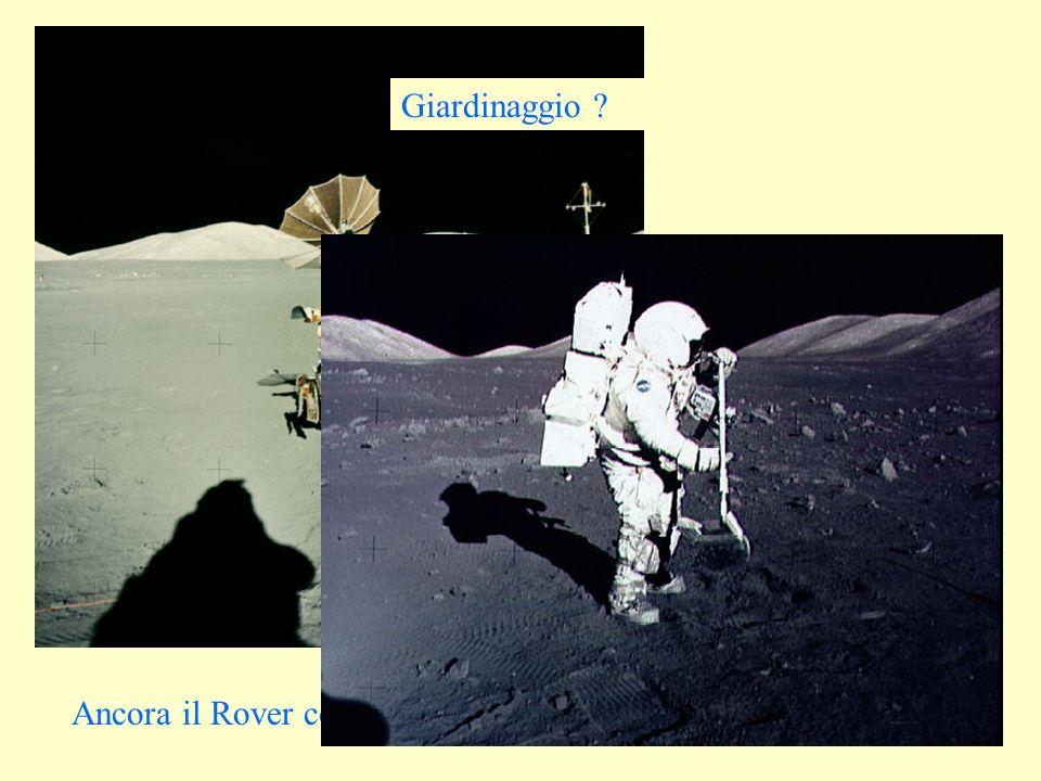 Ancora il Rover con montagne sullo sfondo... Giardinaggio ?