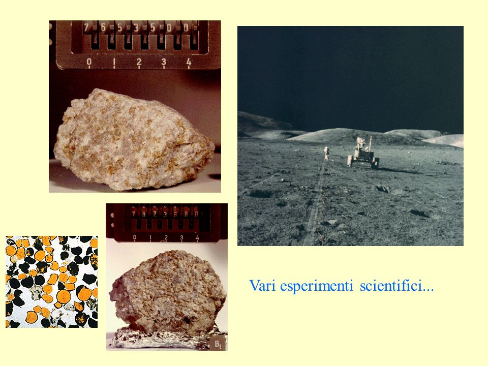 Vari esperimenti scientifici...