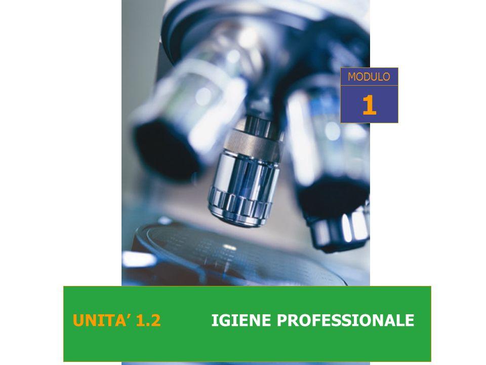 UNITA 1.2 IGIENE PROFESSIONALE MODULO 1