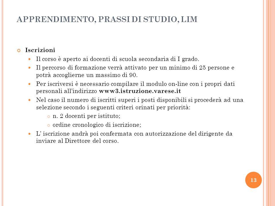 14 Calendario del corso IC De Amicis Busto A.