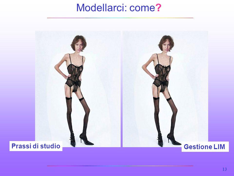 13 Prassi di studio Gestione LIM Modellarci: come?