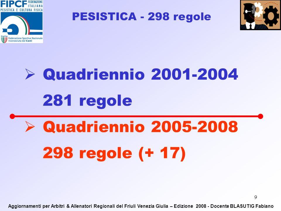 8 P U B B L I C O – Mass-media Aggiornamenti per Arbitri & Allenatori Regionali del Friuli Venezia Giulia – Edizione 2008 - Docente BLASUTIG Fabiano Relazione tra le aree della gara