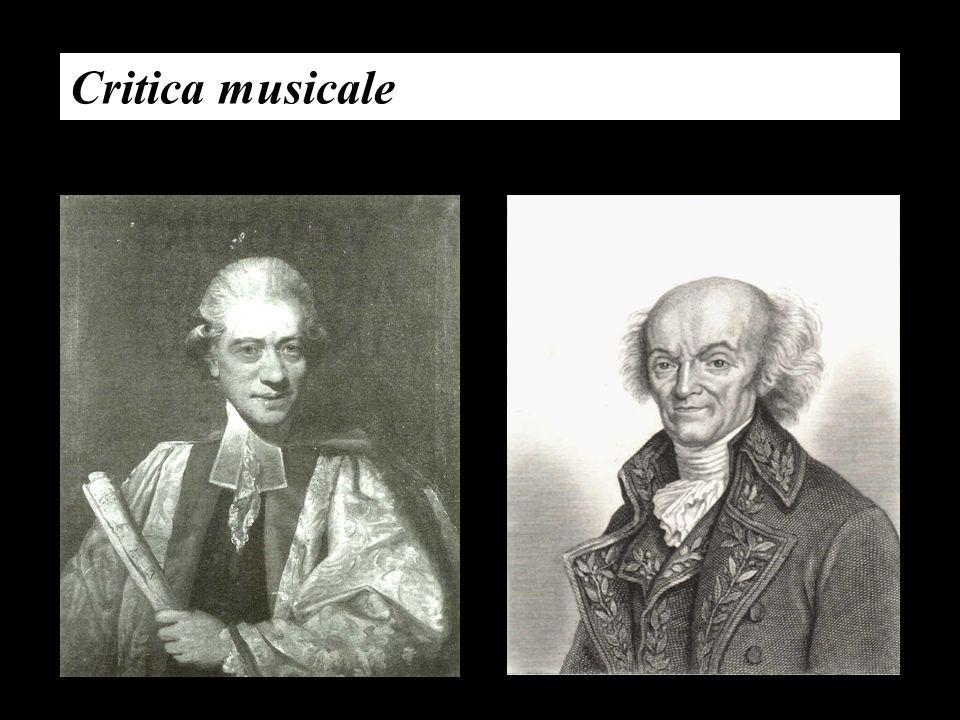 Critica musicale