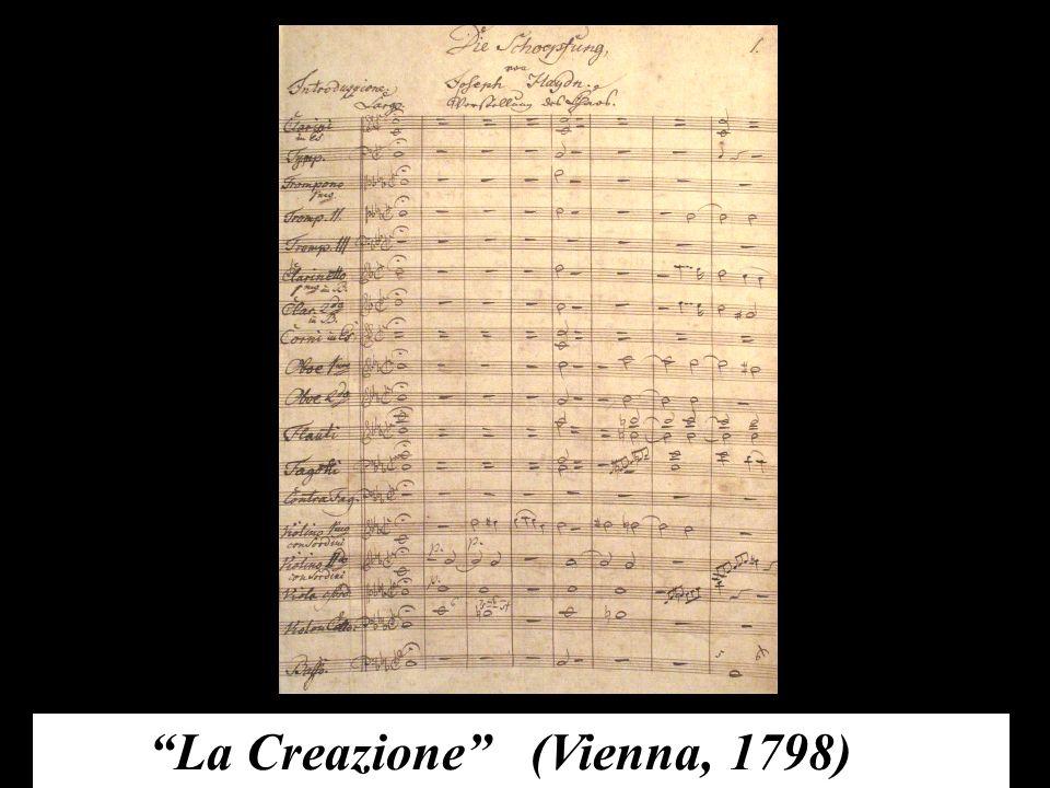 La Creazione (Vienna, 1798)