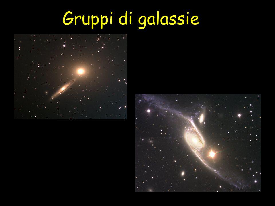 Puppis Stella supergigante Molto rara Massa: 50 Luminosità: 60000 Raggio: 20 Temperatura: 42000 ° Vita: 10 milioni di anni Il Sole Stella nana Molto comune Massa: 1 Luminosità: 1 Raggio: 1 Temperatura: 6000° Vita: 8 miliardi di anni Seguiamo due stelle!