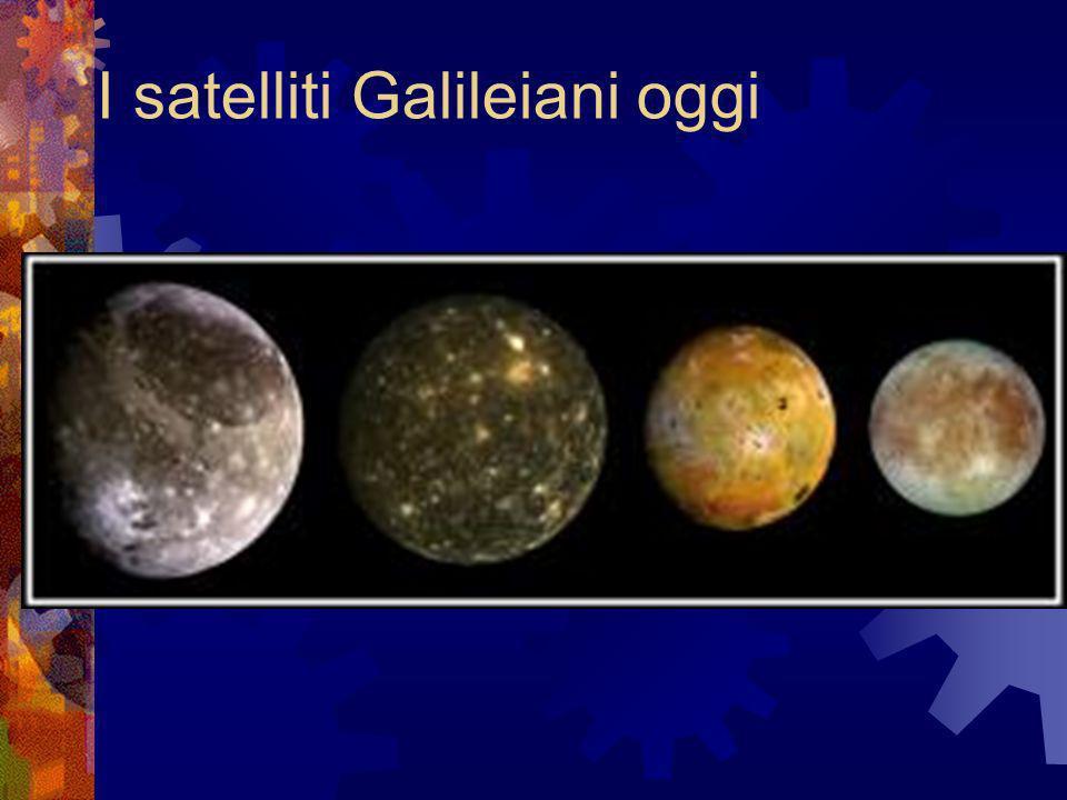 I satelliti Galileiani oggi