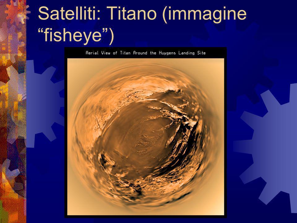 Satelliti: Titano (immagine fisheye)
