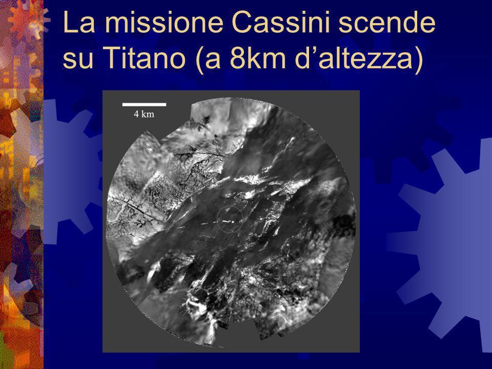 La missione Cassini scende su Titano (a 8km daltezza)