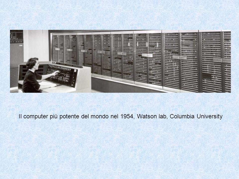 Il computer più potente del mondo nel 1954, Watson lab, Columbia University