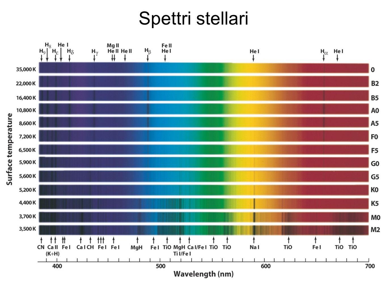 Spettri stellari