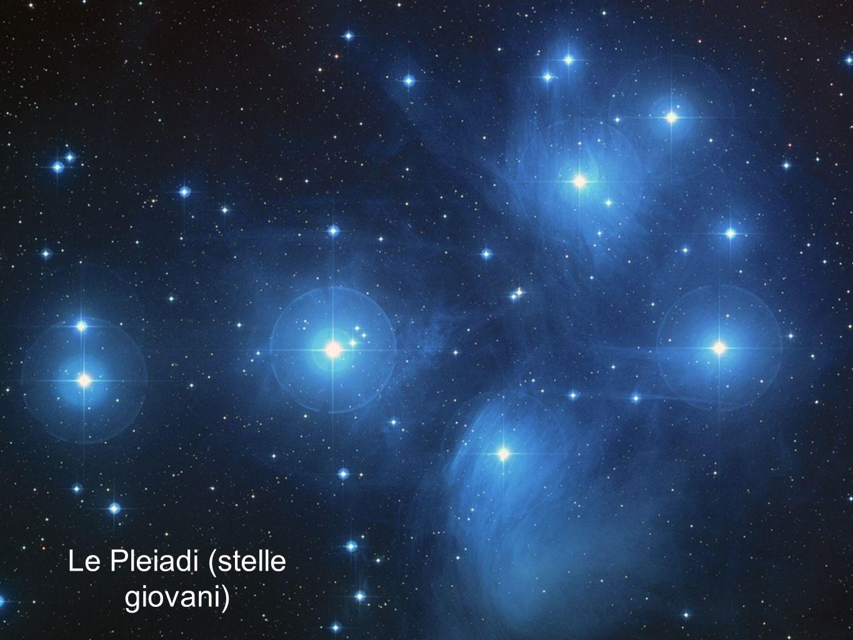 Le Pleiadi (stelle giovani)