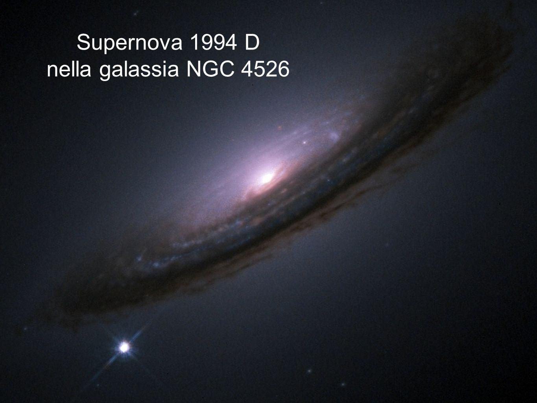 Supernova 1994 D nella galassia NGC 4526