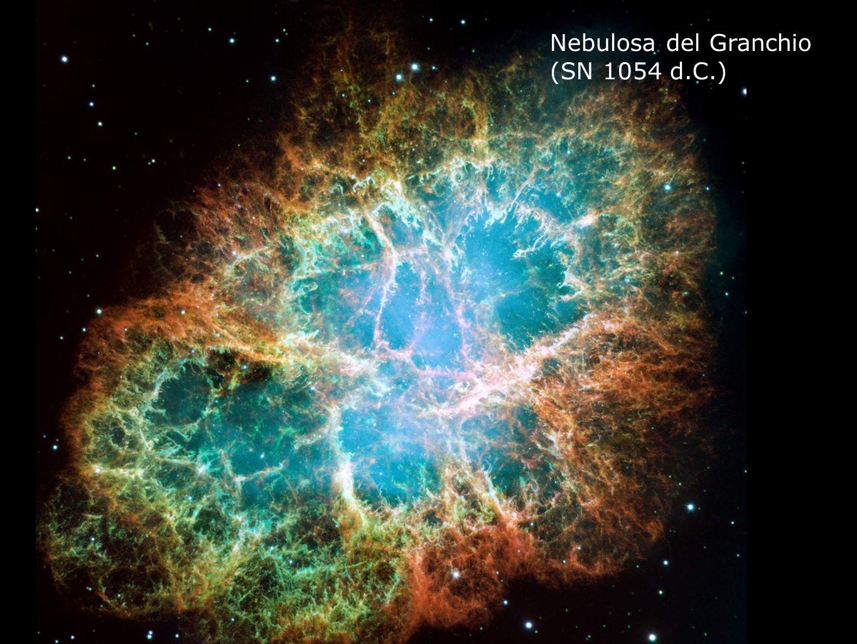 73 Nebulosa del Granchio (SN 1054 d.C.)