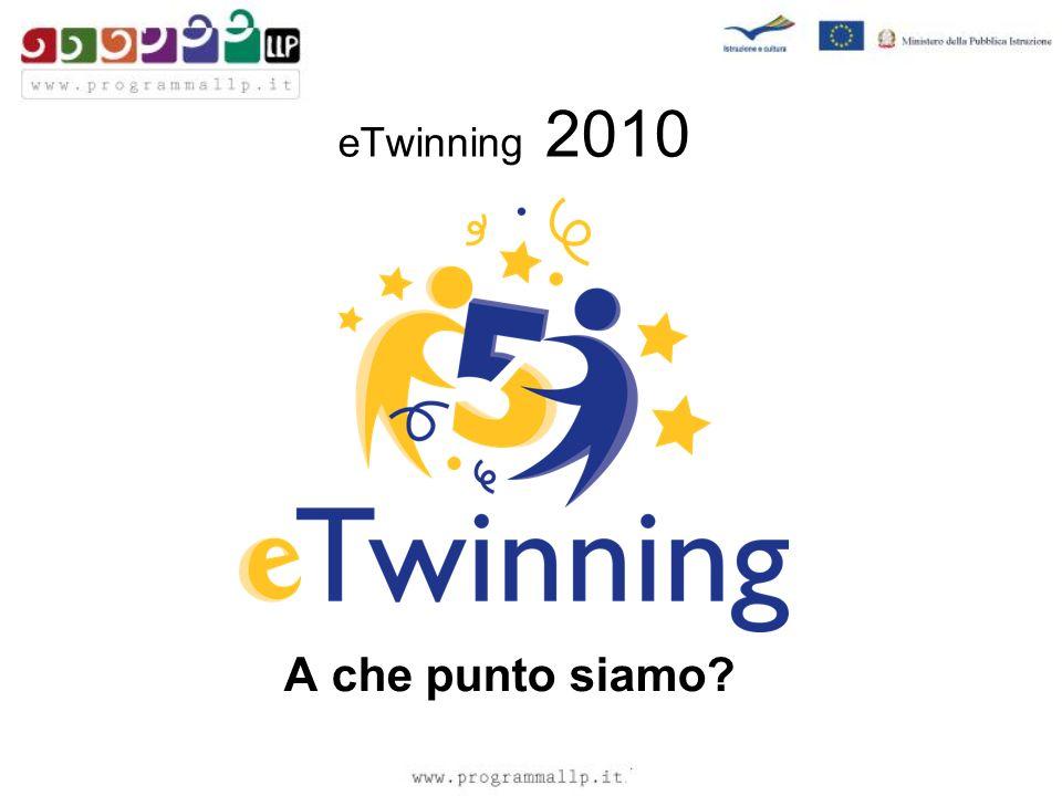 eTwinning 2010 A che punto siamo?