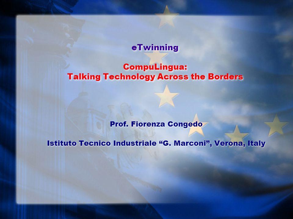 Le scuole, le classi e i docenti coinvolti Le scuole: Istituto Tecnico Industriale G.