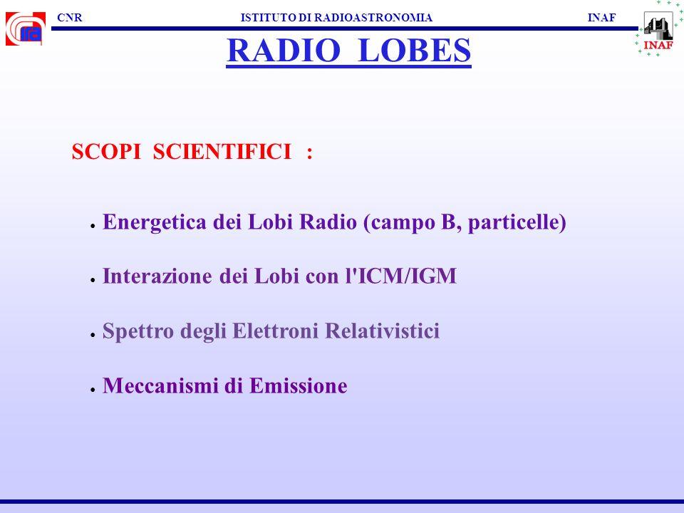 CNR ISTITUTO DI RADIOASTRONOMIA INAF HOT SPOTS 3C 445 : Prieto, Brunetti, Mack, 2002, Science 298, 193 VLA VLT I K