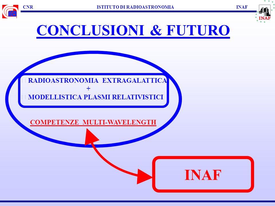 CNR ISTITUTO DI RADIOASTRONOMIA INAF EVOLUZIONE DI RADIOSORGENTI Fanti + al. 2003