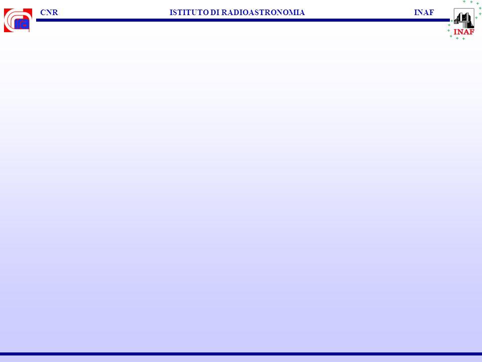 CNR ISTITUTO DI RADIOASTRONOMIA INAF CONCLUSIONI & FUTURO RADIO -------- MULTI-W VLA VLBI VSOP2, eVLBI, eVLA ALMA, LOFAR, SKA HST, VLT, TNG Chandra, XMM SPITZER, LBT, VLTI JWST, ASTROE2