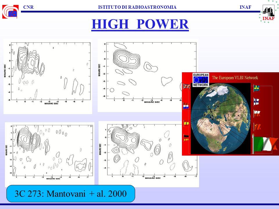 EVOLUZIONE DI RADIOSORGENTI Murgia, 2000 (FR I)