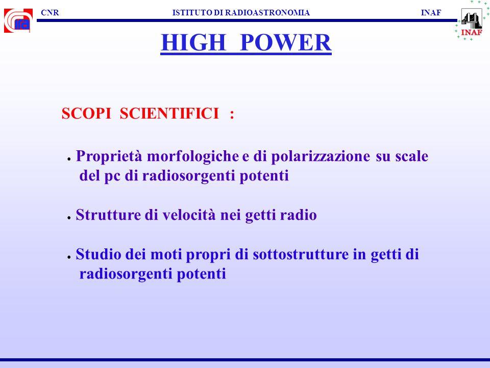 CNR ISTITUTO DI RADIOASTRONOMIA INAF LOW POWER Mkn 501: Giroletti + al.