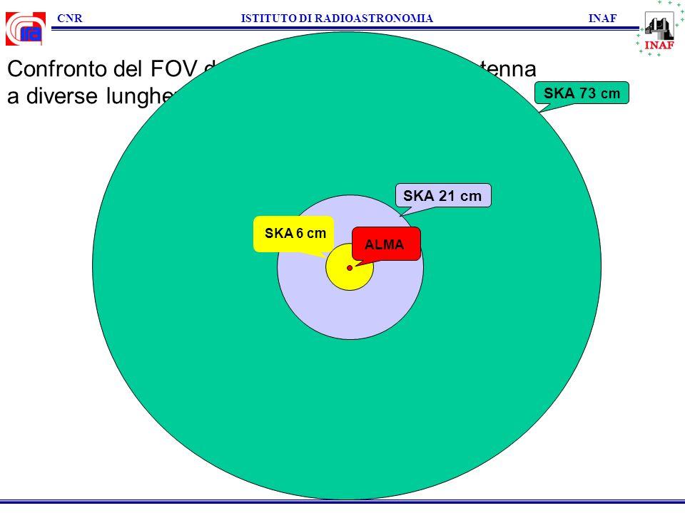 CNR ISTITUTO DI RADIOASTRONOMIA INAF Fondi per il Dimostratore nazionale SKA: 2.20 M IRACNR (INAF) (Bo) 0.20 M IEIIT CNR (To) 0.15 M Oss.