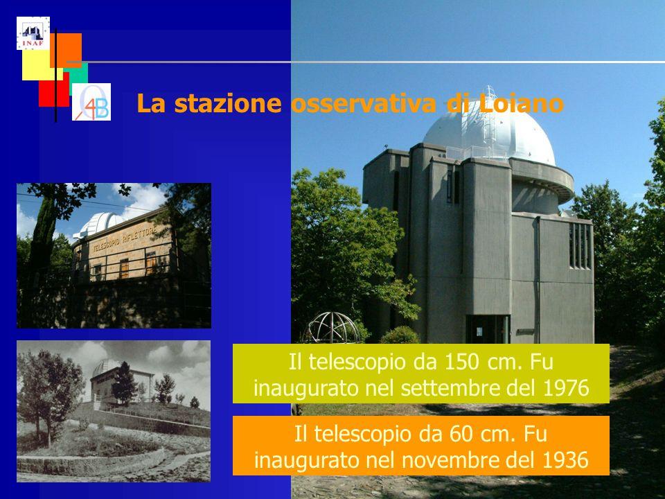 Il telescopio da 60 cm. Fu inaugurato nel novembre del 1936 Il telescopio da 150 cm.