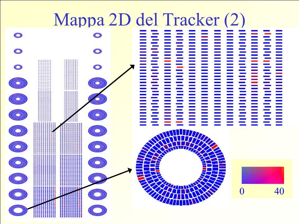 Mappa 2D del Tracker (2) 0 40
