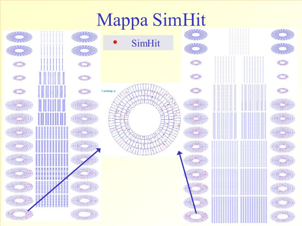 SimHit. Mappa SimHit