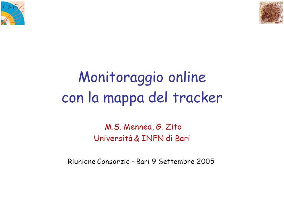 Monitoraggio online con la mappa del tracker M.S. Mennea, G.