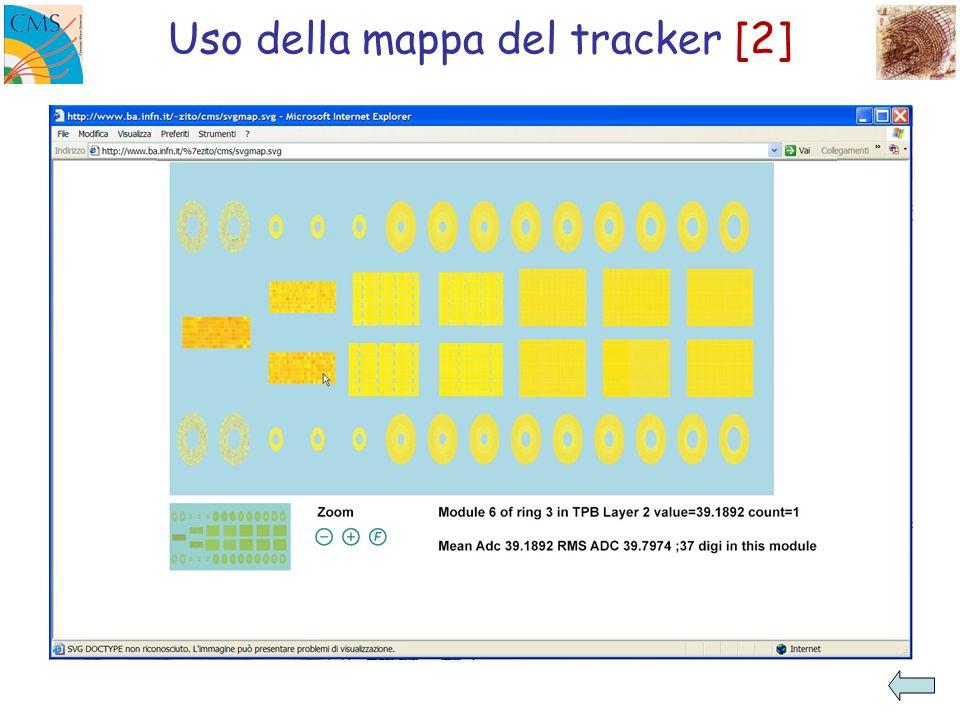 Uso della mappa del tracker [2]