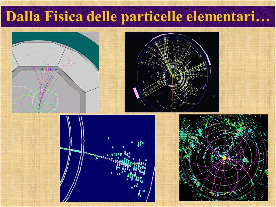 Dalla Fisica delle particelle elementari…