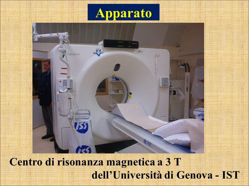 Apparato Centro di risonanza magnetica a 3 T dellUniversità di Genova - IST
