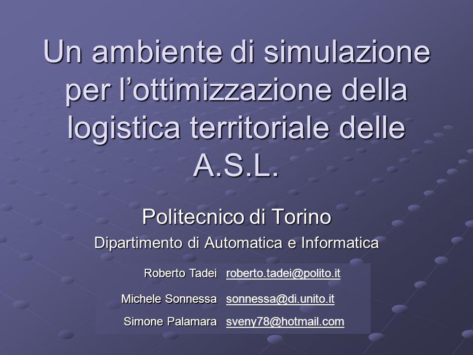La fornitura di beni nelle ASL Ospedale Magazzino Uffici economali Emergenza Ambulatorio