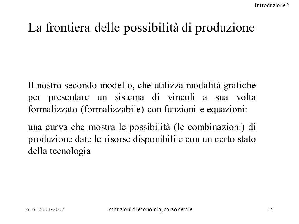 Introduzione 2 A.A.