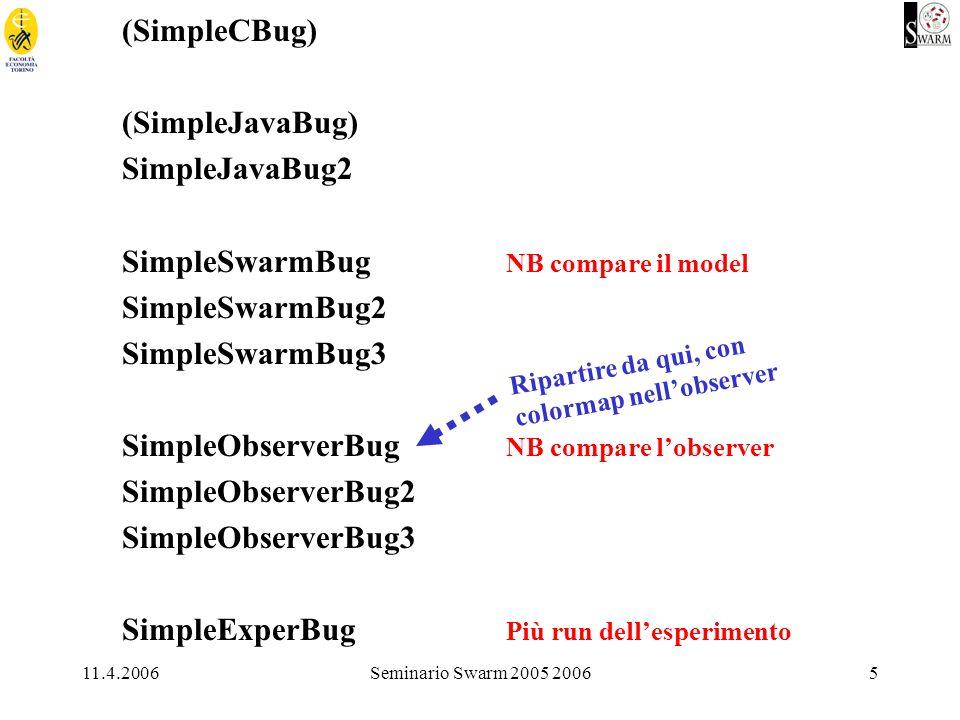 11.4.2006Seminario Swarm 2005 20066 jES e jESlet (jES light experimental tool ) Sito di riferimento http://web.econ.unito.it/terna/jes/ da cui scaricare lultima versione (modificazioni relativamente frequenti) per il seminario utilizziamo la versione semplificata jESlet, on line come jeslet-1.2.0.tar.gz e il file di documentazione jeslet.pdf (vedere http://web.econ.unito.it/terna/jes_files/ ) Alessandro Raimondi e nES