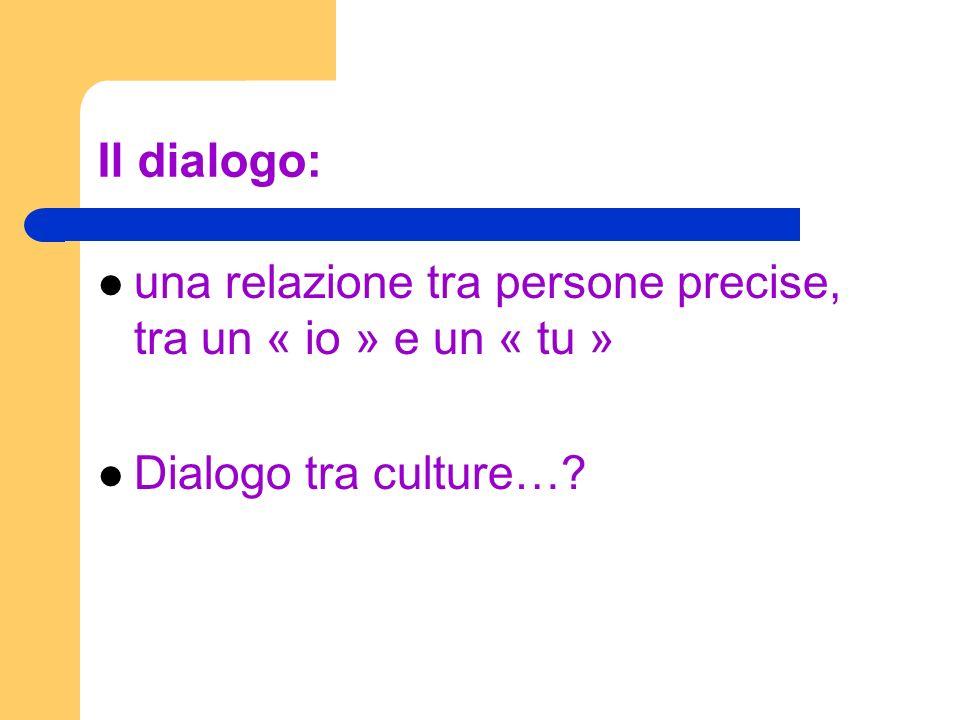 DIALOGO… … della vita … dellimpegno … intellettuale … esistenziale