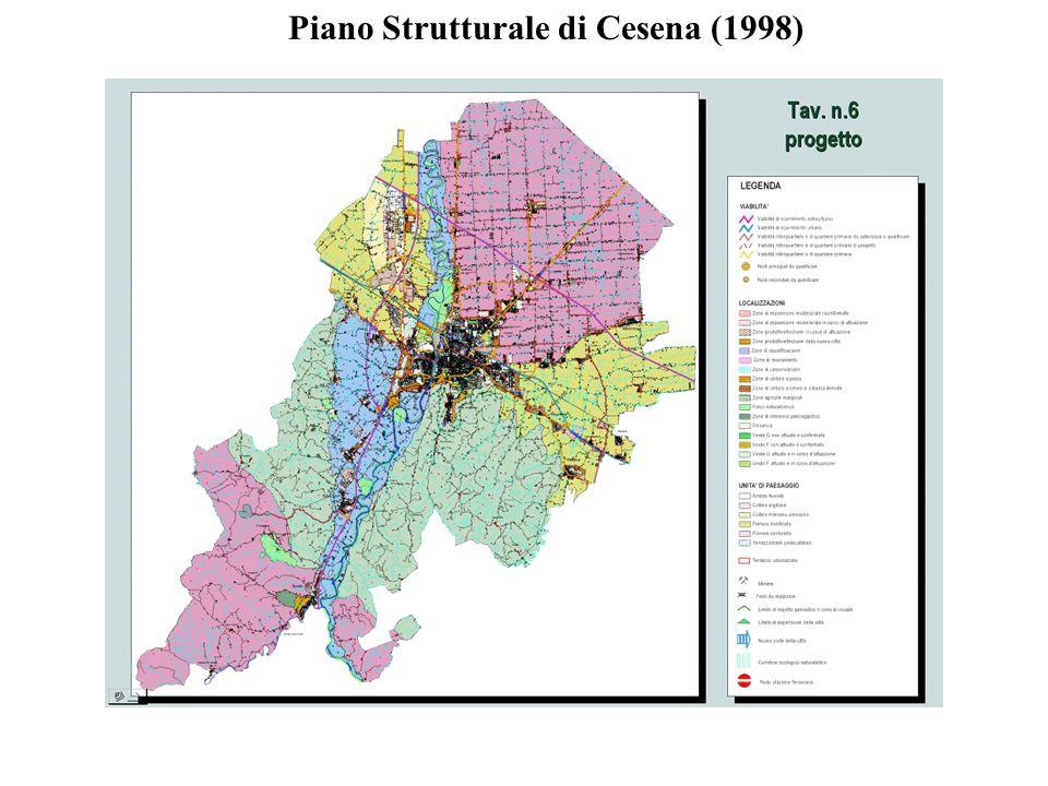 PIANO REGOLATORE GENERALE PIANO STRUTTURALE COMUNALE (PSC) (durata indeterminata – intero territorio comunale) + PIANO OPERATIVO COMUNALE (POC) (durata 5 anni – solo gli ambiti interessati dagli interventi previsti dal PSC)