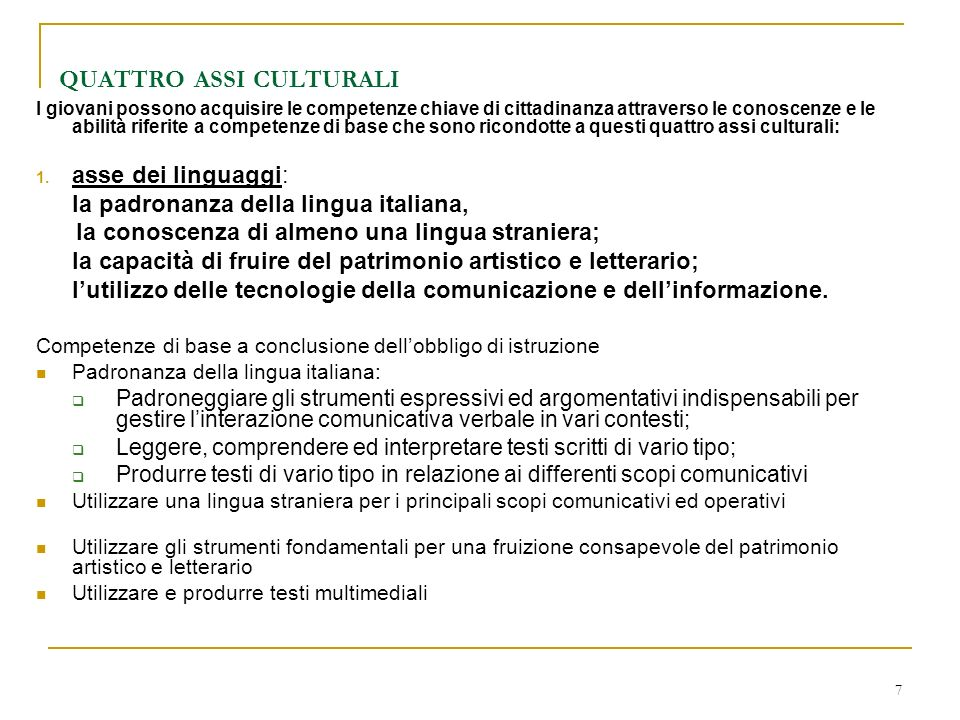 8 Quattro assi culturali 2.