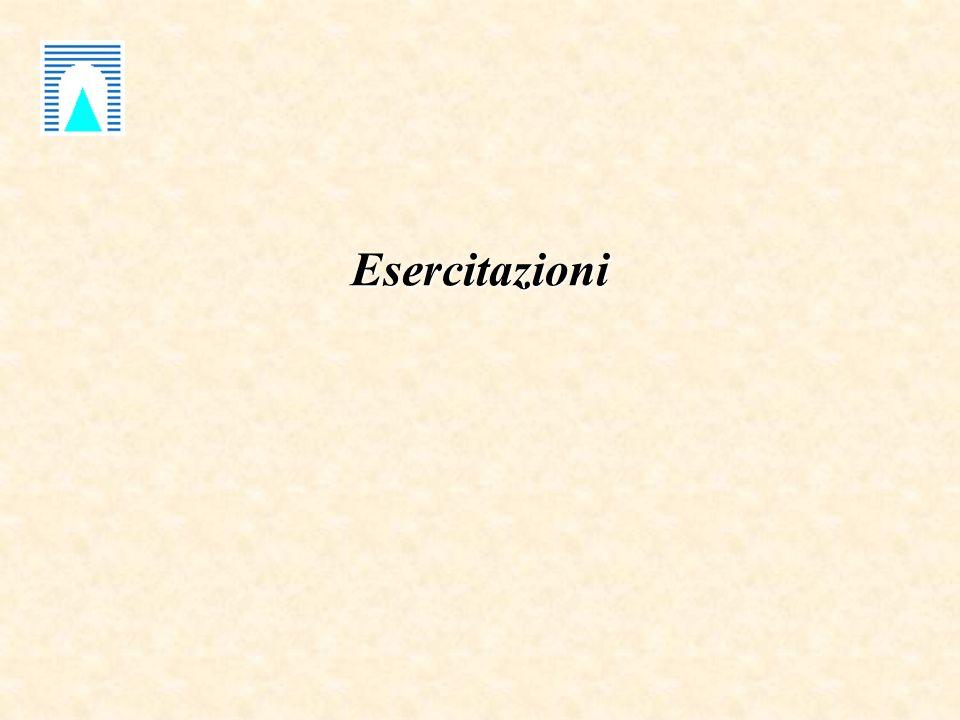Esercitazioni