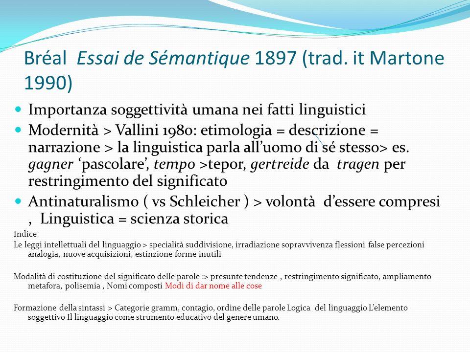 Bréal Essai de Sémantique 1897 (trad.